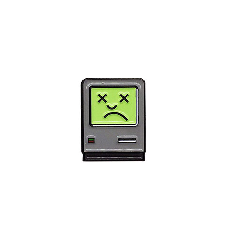 Sad Mac Pin