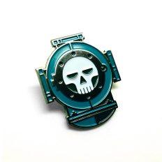 Deceased Diver Enamel Pin
