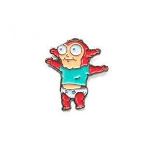 Morty Jr Pin