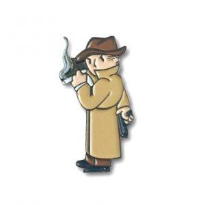 Mysterious Stranger Pin