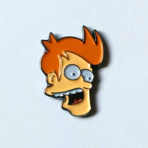The Flipped Face Fry Pin