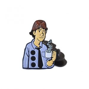 3-Hole Punched Jim Pin
