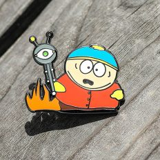 Cartman Gets an Anal Probe Pin