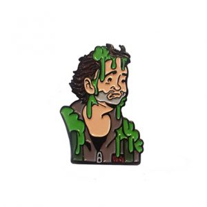 Slimed Dr. Venkman Pin