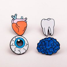 Important Body Parts Pin Set
