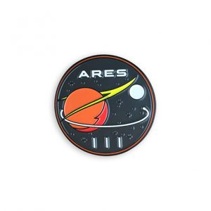 The Martian Movie Ares III Mission Enamel Pin