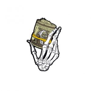 Bank Roll Soft Enamel Pin