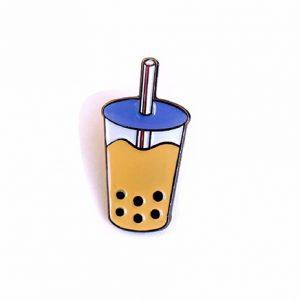 Boba Milk Tea Pin