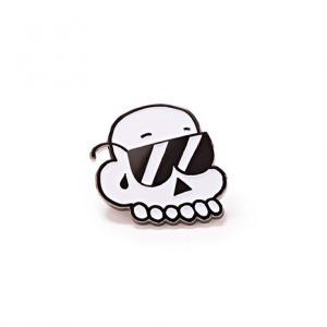 Cool Skull Pin