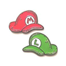 The Mario Bros Pin Set