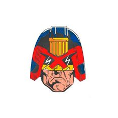 2000AD Judge Dredd Enamel Pin