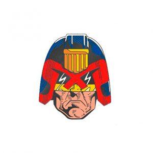 2000AD Judge Dredd Enamel Pin
