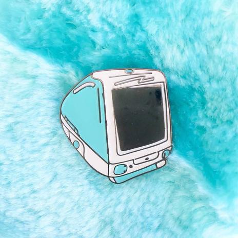 90's Computer Enamel Pin