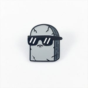 Cool Tombstone Enamel Pin