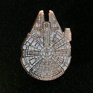 Galactic Terrorist Falcon Enamel Pin