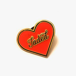 Jaded Enamel Pin