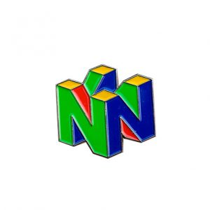 N64 Enamel Pin