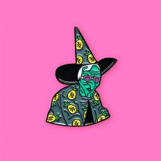 Tropical Witch Enamel Pin
