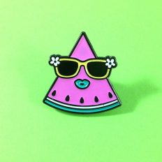 Watermelon Babe Enamel Pin