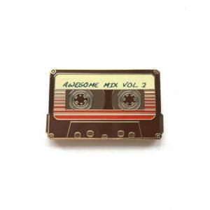 Awesome Mix Volume 2 Enamel Pin