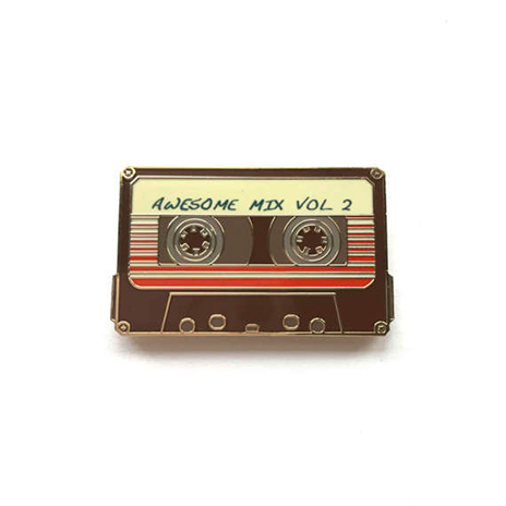 Awesome Mix Volume 2 Enamel Pin