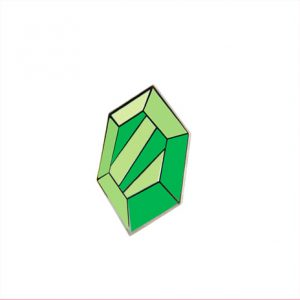 Green Rupee Enamel Pin