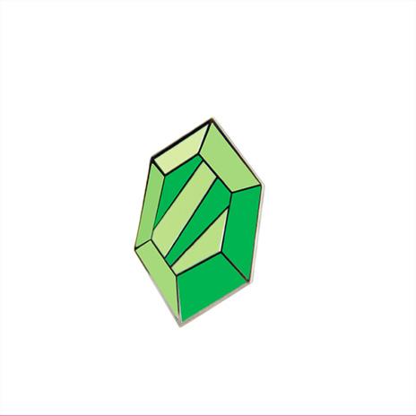 Green Rupee Enamel Pin
