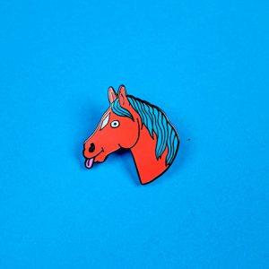 Horsey Enamel Pin
