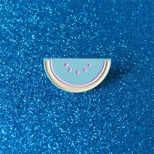 Pastel Watermelon Enamel Pin