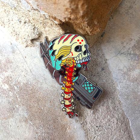 Predator Gauntlet Hard Enamel Pin