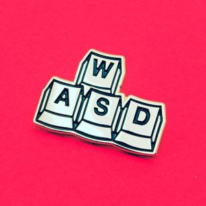 WASD Soft Enamel Pin