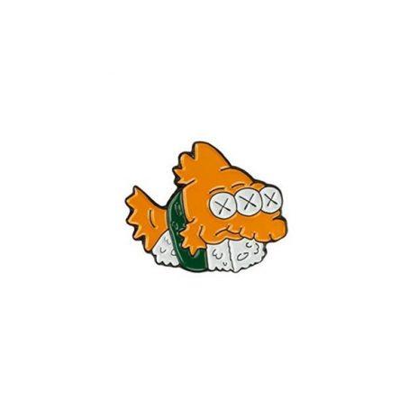 Blinky Sushi Enamel Pin
