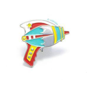 Bright Ray Gun Enamel Pin
