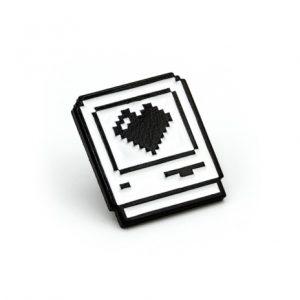 Computer Love Enamel Pin