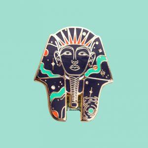 Cosmic Pharaoh Enamel Pin