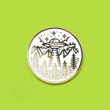 Crop Circles Enamel Pin