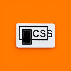 CSS Enamel Pin