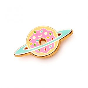 Donut Galaxy Enamel Pin