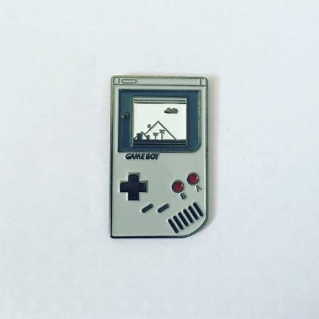 Game Boy Super Mario Version Enamel Pin