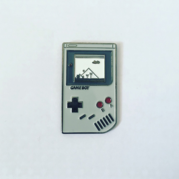 Game Boy Super Mario Version Enamel Pin