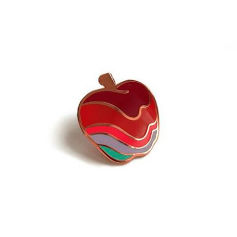 Melty Apple Hard Enamel Pin