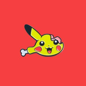 Pika Chewed Enamel Pin