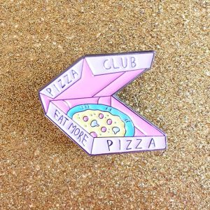 Pizza Club Enamel Pin