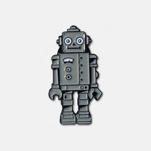 Robot Lapel Pin