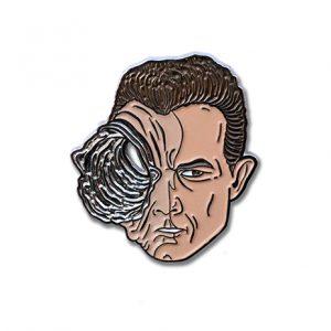 Terminator T-1000 Enamel Pin