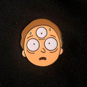 Three Eyed Morty Enamel pin