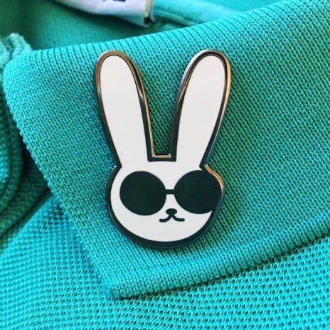 Bad Bun Hard Enamel Pin
