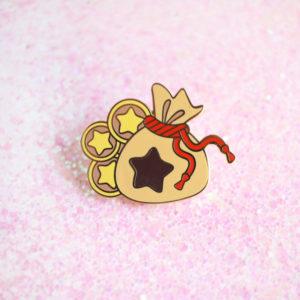 Bell Bag Enamel Pin