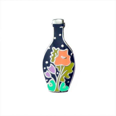 Bottled Spring Enamel Pin