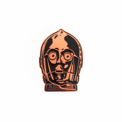 Copper Bot Enamel Pin
